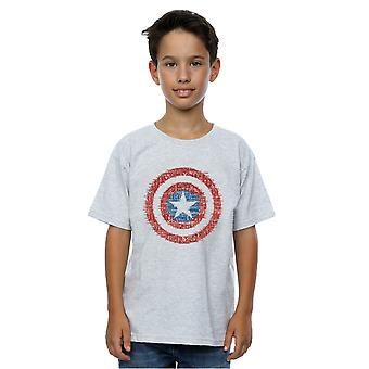 Marvel Boys Captain America 75th Super Soldier T-Shirt