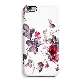 Caso iPhone 6 6s caso 3D (brilhante)-flores bonitas