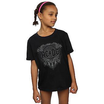 AC/DC Girls Black Ice T-Shirt