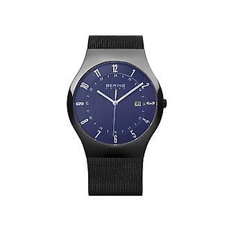 Bering mens slim solar watch 14640-227