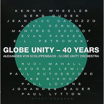 Alex Von Schlip - Globe Unity Orchestra-40 Years [CD] USA import