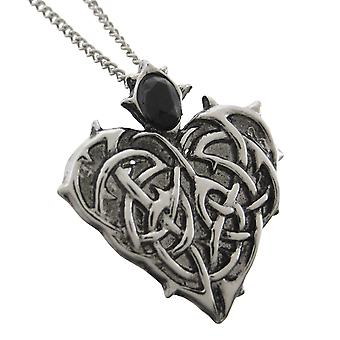 BARBED HEART Eternal Love Pendant / Necklace