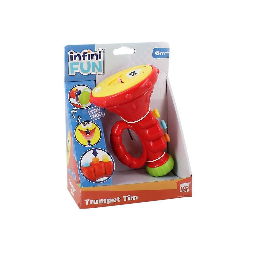 Infinifun Trumpet Tim musikalisk leksak (I1182)