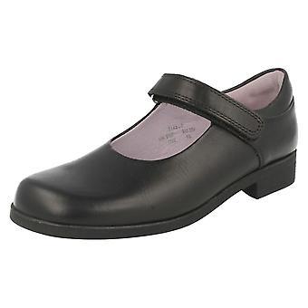 Scarpe ragazze Startrite con Velcro formale/scuola di Samba