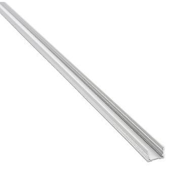 Barthelme 62399201 62399201 Treno a sezione U Alluminio (L x W x H) 1000 x 18,4 x 13 mm