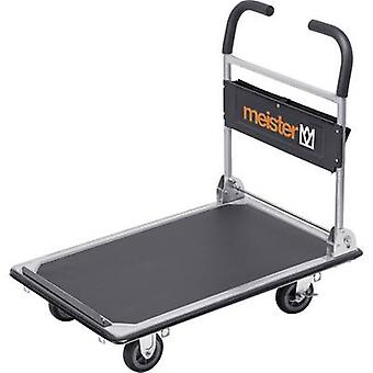 Meister Werkzeuge 8985630 Flatbed trolley folding, + compartment Steel Load capacity (max.): 300 kg