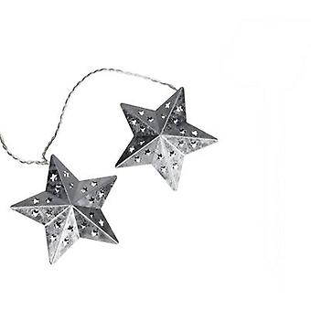 05-c080 Holiday lights (motif) Stars EEC: LED (A++ - E) 10 LED Warm white Illuminated length: 2.7 m