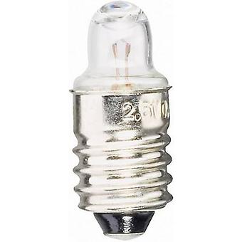 Barthelme 00632530 Torch bulb 2.50 V 0.75 W Base E10 Clear 1 pc(s)