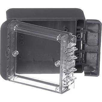 Bopla Bocube B 100806 PC-V0-G-7024 Wall-mount enclosure, Fitting bracket 80 x 113 x 60 Polycarbonate (PC) Graphite grey (RAL 7024) 1 pc(s)