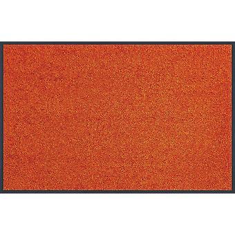 wash+dry Trend-Colour Burnt Orange waschbare Fußmatte