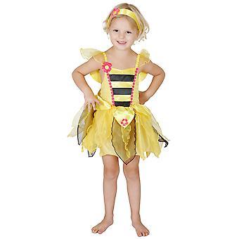 Bumble Bee hunajaa Satu hyönteisten tarina kirja viikko tyttöjen puku 3-5