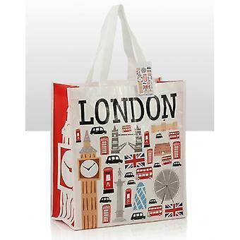 Union Jack bär ikoner av London Shopping Souvenir väska