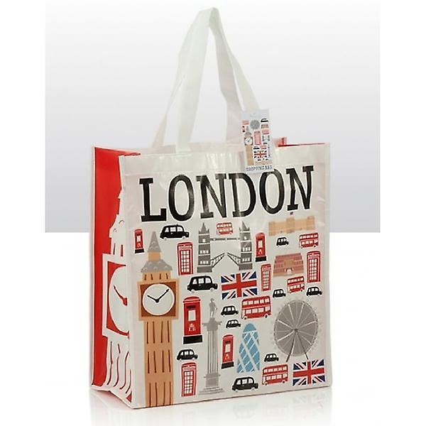 Union Jack Wear Icons Of London Shopping Souvenir Bag