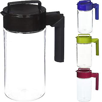 Takeya 1-Quart Airtight Tritan Plastic Pitcher with Non-Slip Silicone Handle