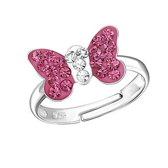 Butterfly - 925 Sterling Silver Rings - W24012x