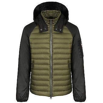 Colmar Two-Tone Oil & Black Padded Jacket