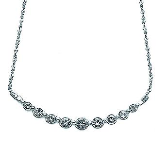 Oliver Weber Chain Soon Rhodium Crystal