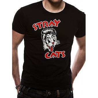 Stray Cats-Logo T-Shirt