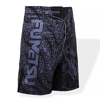 Fumetsu bambini Rampage Fight Shorts Black/Grey