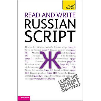 Read and Write Russian Script - Teach Yourself by Daphne West - 978144