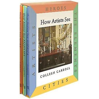 How Artists See 4-Book Set III: Heroes/The Elements/Cities/Artists