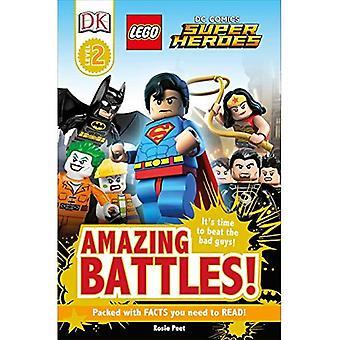 LEGO DC Comics superhjältar: Fantastisk strider! (DK läsare: nivå 2)
