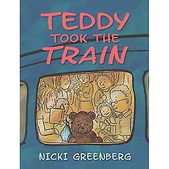 Teddy pegou o trem