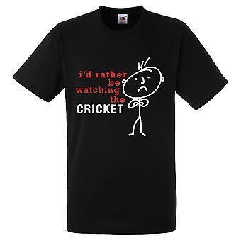Mens sarebbe piuttosto osserverò la maglietta di Cricket