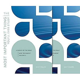The Most Important Thing You'll Ever Study, Volume 34: A Survey of the Bible: Vols.3-4: The New Testament