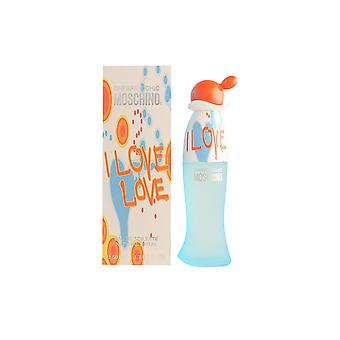 Moschino Cheap And Chic ik hou van Love Edt Spray 100 Ml voor vrouwen