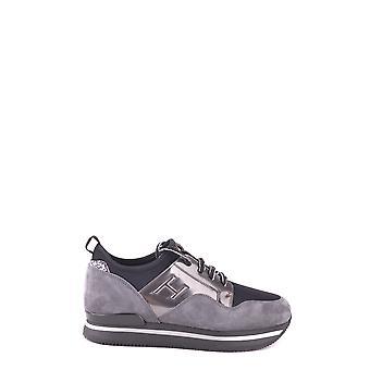 Hogan Ezbc030030 Donne's Grey Suede Sneakers