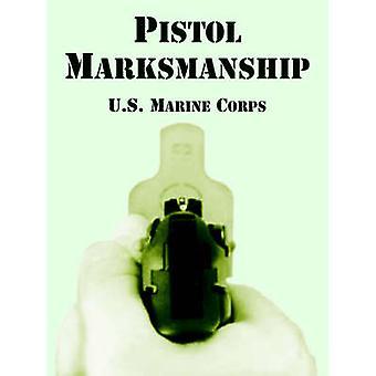 Pistool schietvaardigheid door US Marine Corps