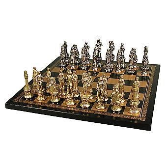 تعيين الشطرنج الرجال فلورنسا مع المجلس والجلود