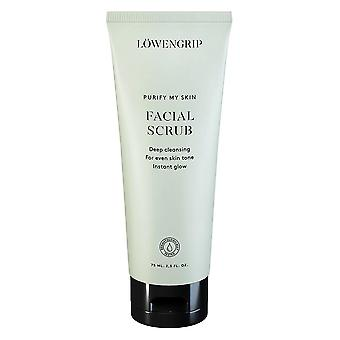 Löwengrip puhdistaa ihon kasvojen kuorinta 75 ml