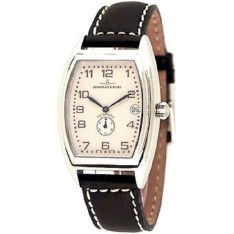 Zeno-watch mens watch tonneau retro automatic retro 6 8081-6-e2