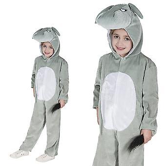 Donkey gray child costume one piece donkey costume donkey costume