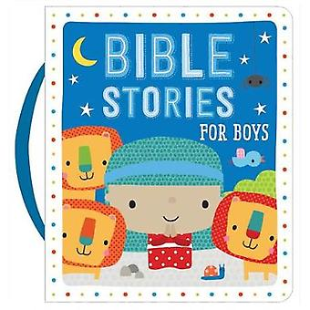 Bible Stories for Boys (Blue) by Dawn Machell - 9781860249938 Book