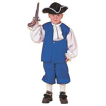 Colonial dreng historiske pioner Olden dag victorianske bog uge drenge kostume