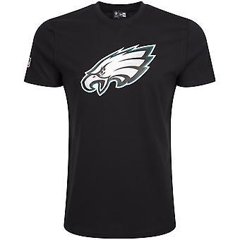 New era basic shirt - NFL Philadelphia Eagles black