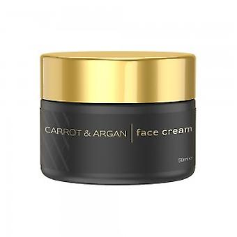 Eco Masters Carrot & Argan Face Cream - For Luminous Skin - 50ml Topical Application