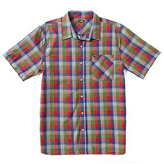 Lrg RC Plaid Short Sleeve Woven Shirt Ash