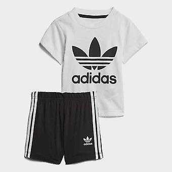 Adidas Originals Infant Trefoil T-Shirt and Shorts Set