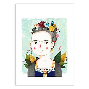 Art-Poster - Frida - Judith Loske