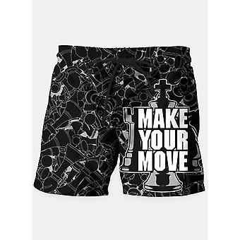 Make your move chess shorts