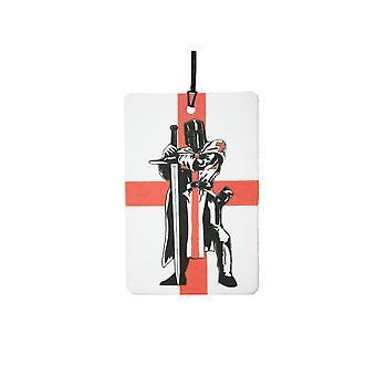 St Georges dag Knight Engeland vlag auto luchtverfrisser
