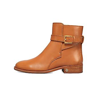 Tory Burch Brooke Leather Ankle Bootie, Tan