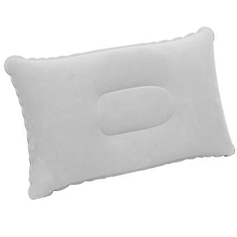 TRIXES Inflatable Pillow for Travel or Camping - Blow up Pillow - Grey Twin Pack