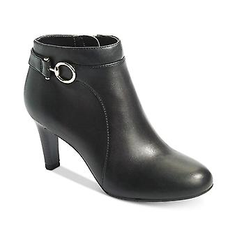 Bandolino Womens Longo Leather Closed Toe Ankle Fashion Boots