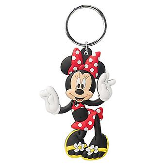 PVC Key Chain - Disney - Minnie Mouse Soft Touch New Licensed 85164