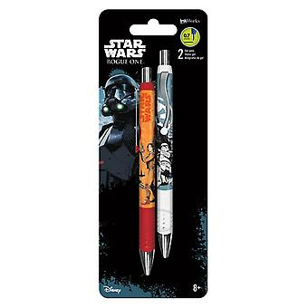 Gel Pen - Rogue One - 2pk New Toys Gifts Papery iw0104